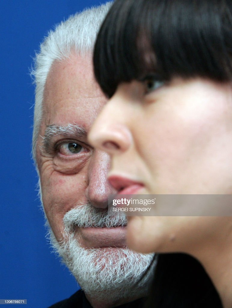 Spanish Born Fashion Designer Paco Rabanne Looks At Ukrainian News Photo Getty Images