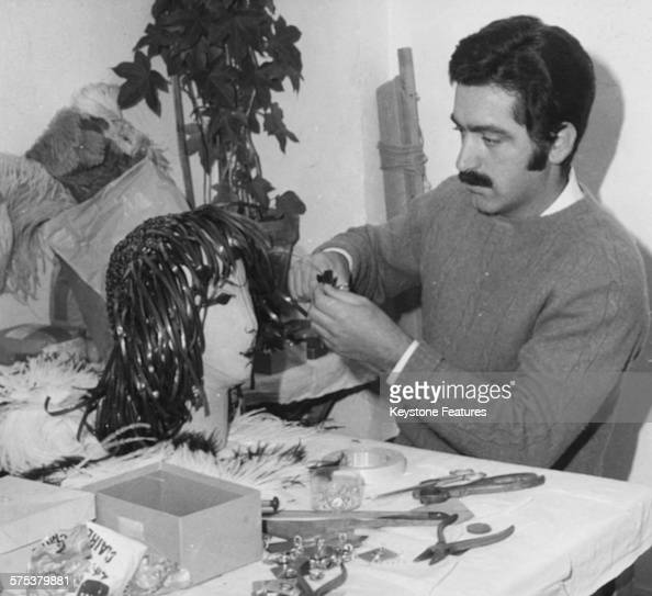 Spanish Born French Fashion Designer Paco Rabanne Creating A News Photo Getty Images