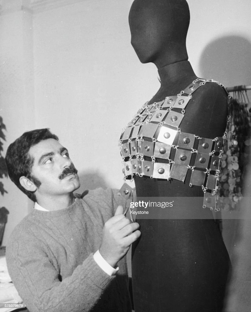 Spanish Born French Fashion Designer Paco Rabanne Working On One Of News Photo Getty Images
