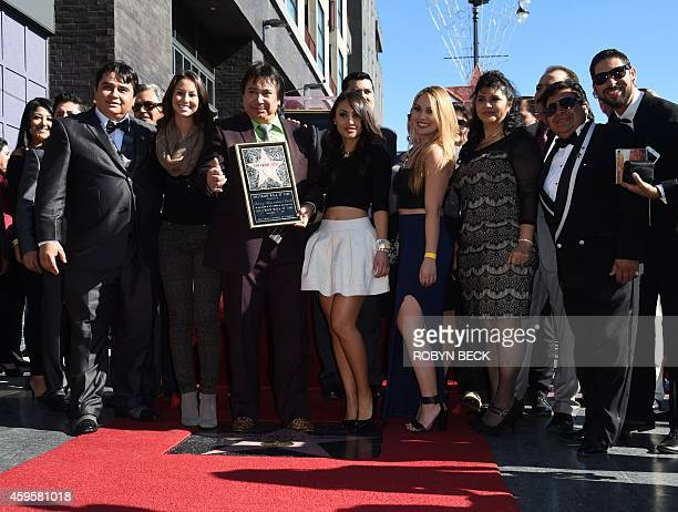 Spanishlanguage radio personality Renán Almendárez Coello 'El Cucuy de la Manana' is honored with a star on the Hollywood Walk of Fame November 25...