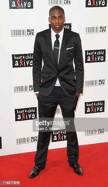 Spank Rock attends the Keep A Child Alive Ball at The Roundhouse on June 15 2011 in London England