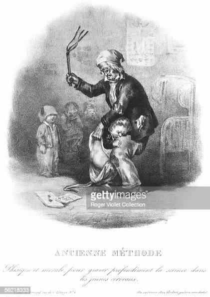 u0026quot spanking at school u0026quot   lithography by benard  1833  news