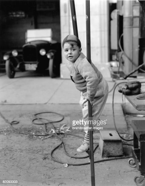Spanky from the 'Little Rascals' Photograph America Around 1930 [Spanky von den 'Kleinen Strolchen' Photographie Amerika Um 1930]