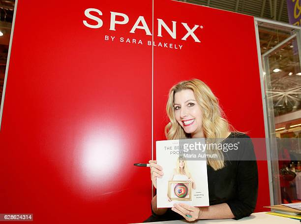 Spanx founder Sara Blakely attends the Massachusetts Conference for Women at Boston Convention & Exhibition Center on December 8, 2016 in Boston,...