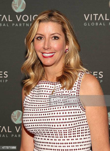 Spanx founder Sara Blakely attends the Vital Voices 14th Annual Global Leadership Awards at John F. Kennedy Center for the Performing Arts on June...
