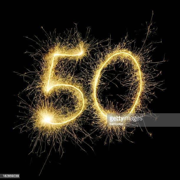 Sparkling Celebration Number Fifty