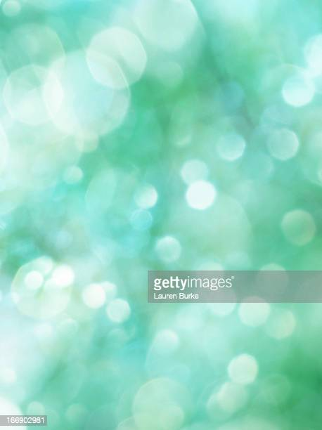 Sparkling Green Glitter Background