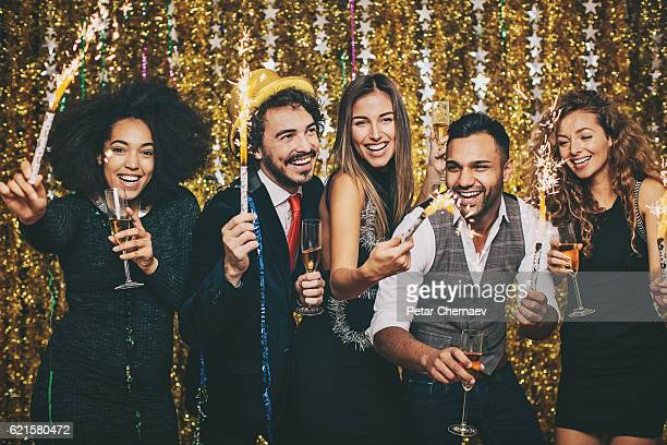 Sparkling party