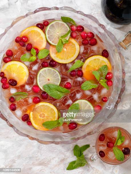 sparkling punch - sangria stock pictures, royalty-free photos & images
