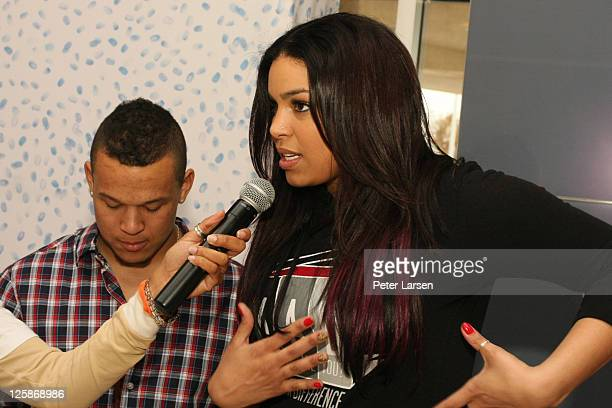 PJ Sparks and Jordin Sparks attend The 4th Annual Jordin Sparks Super Bowl Experience on February 2 2011 in Arlington Texas