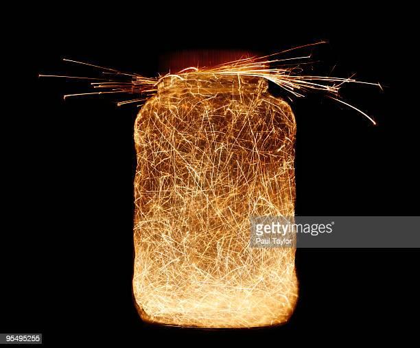 Sparks in Jar