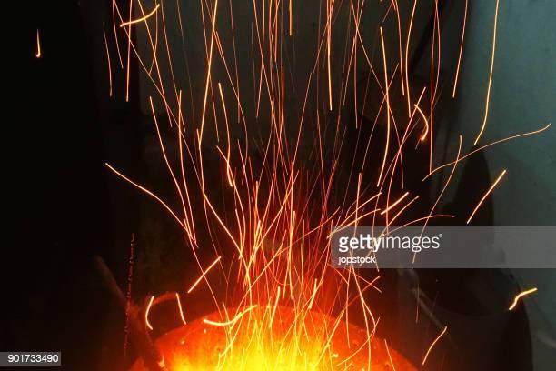 Sparks in the sparks in