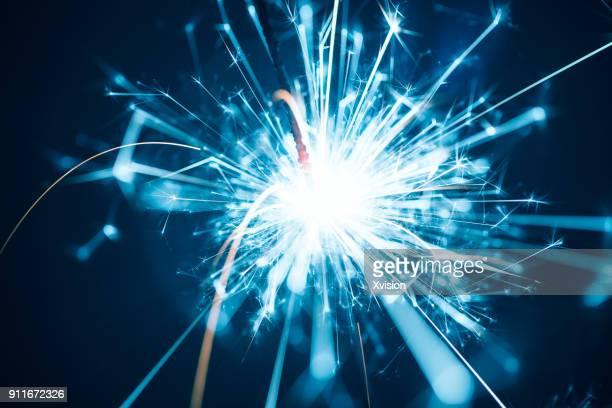 Sparks macro shot