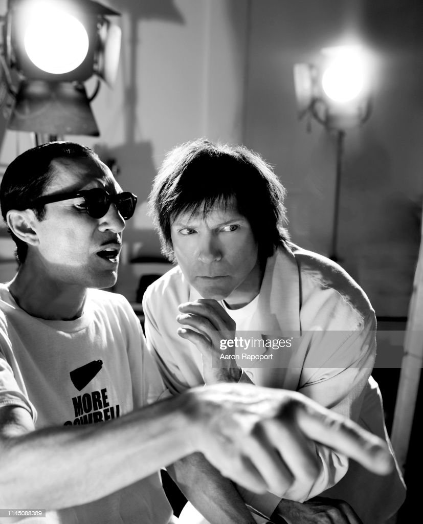 Ron Mael and Russel Mael of Sparks Portrait Session 2005 : ニュース写真