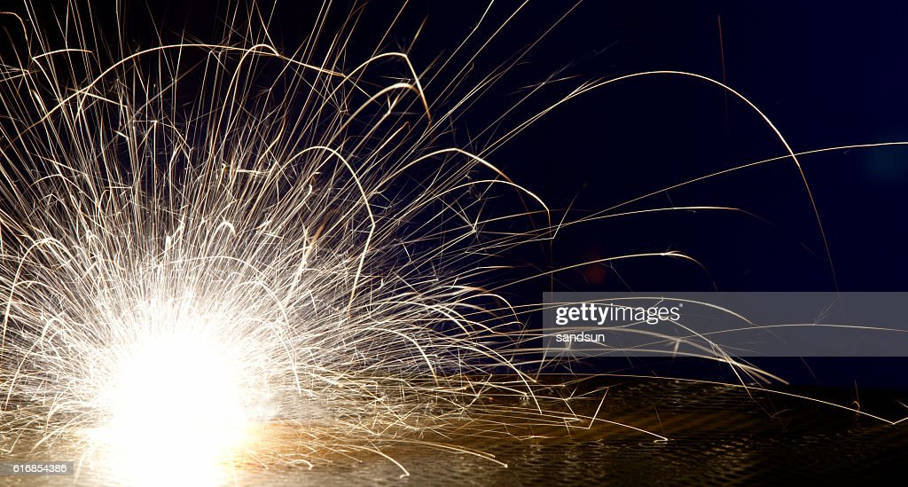 sparks : Stock Photo