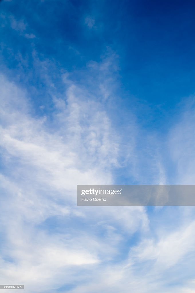 Sparse cloud typology : Stock Photo