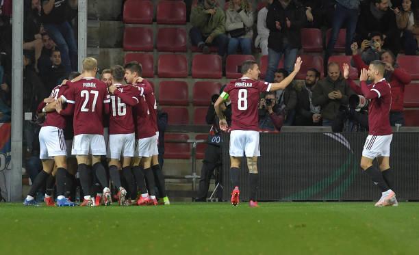 CZE: Sparta Praha v Olympique Lyon: Group A - UEFA Europa League