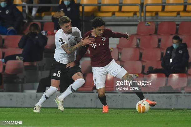 CZE: AC Sparta Praha v LOSC Lille: Group H - UEFA Europa League