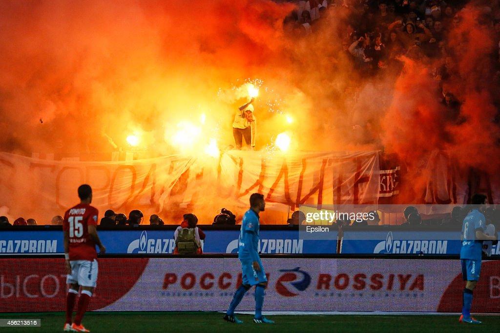 FC Zenit St Petersburg v FC Spartak Moscow - Russian Premier League : News Photo