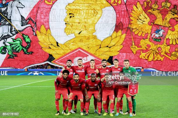 Spartak Moscow's defender from Germany Serdar Tasci Spartak Moscow's defender from Italy Salvatore Bocchetti Spartak Moscow's midfielder from Croatia...