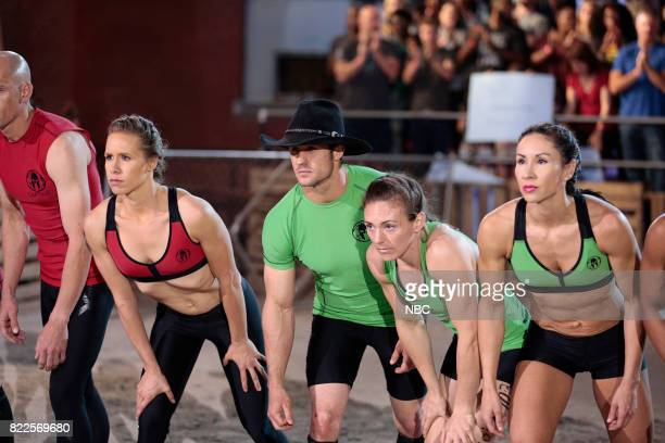 CHALLENGE Spartan Championship Episode 207 Pictured Ashley Keller of team Commanding Officers Lance Pekus Michelle Warnky Maggi Thorne of team The...