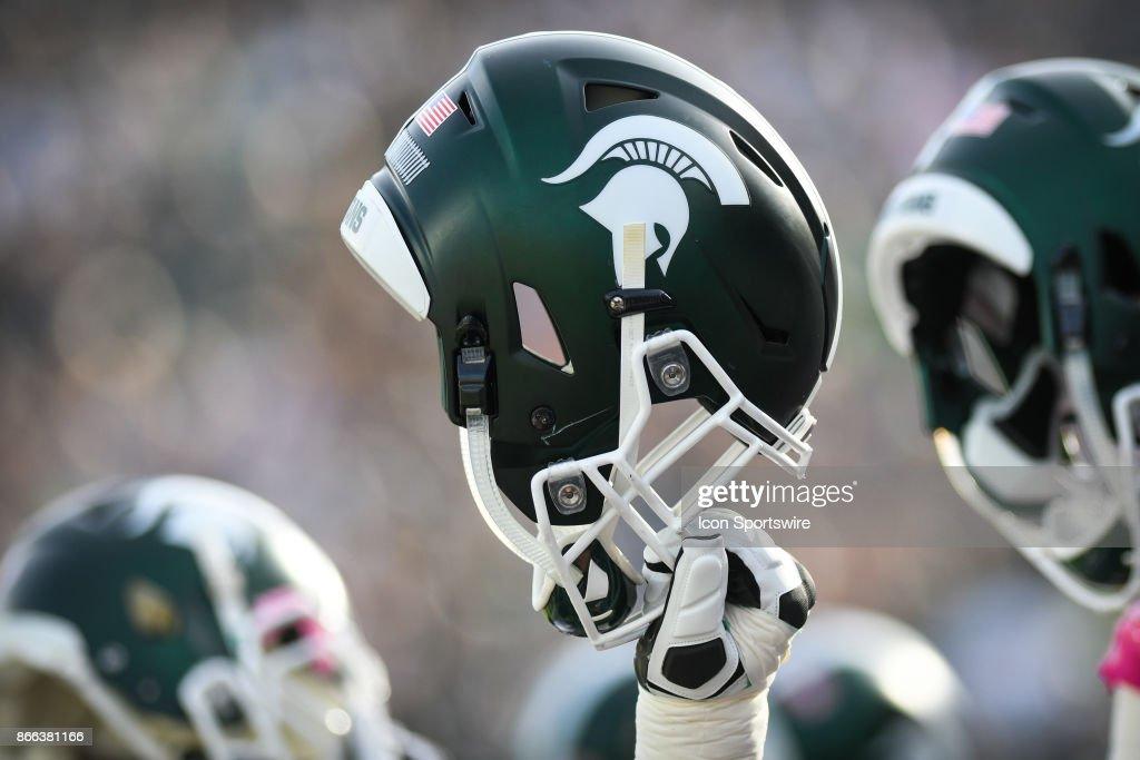COLLEGE FOOTBALL: OCT 21 Indiana at Michigan State : Foto jornalística
