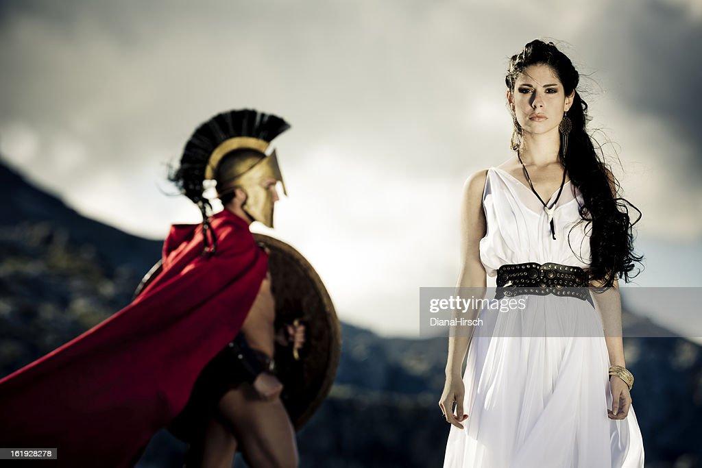 spartan queen : Stock Photo