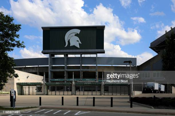 Spartan Stadium home of the Michigan State University Spartans football team in East Lansing Michigan on July 30 2019