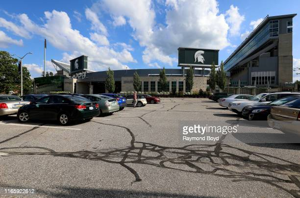 Spartan Stadium, home of the Michigan State University Spartans football team in East Lansing, Michigan on July 30, 2019.