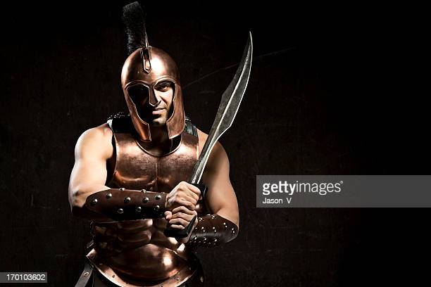 spartan warrior - sparta stock photos and pictures