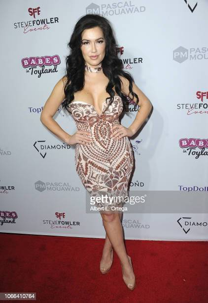 Sparxx arrives for the 11th Annual Babes In Toyland Charity Toy Drive held at Avalon on November 28 2018 in Hollywood California
