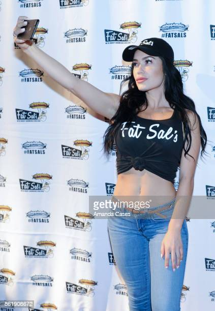 Sparxx attends Fat Sal's Encino Grand Opening Party on October 15 2017 in Encino California