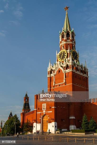 Spasskaya tower, Red Square, Moscow, Russia