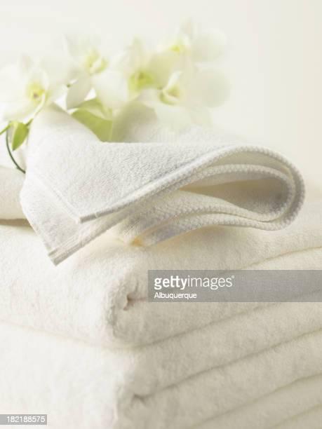 Spa-pilha de toalhas