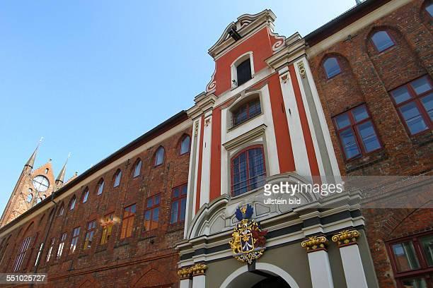 Spaziergang durch die Altstadt Rathaus