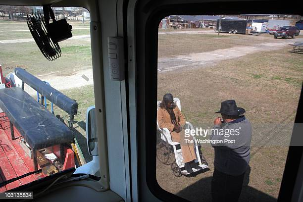 Feb 24 2008 PLACE Canton TX CREDIT jahi chikwendiu/twp Gail Dotson pictured with her husband Elmer Stoltzfus is the mother of Carlton Dotson the...