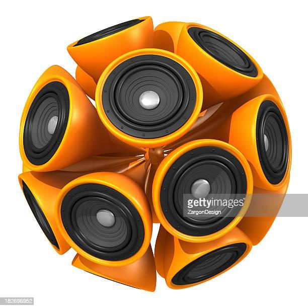 bola de alto-falante - caixa de som - fotografias e filmes do acervo