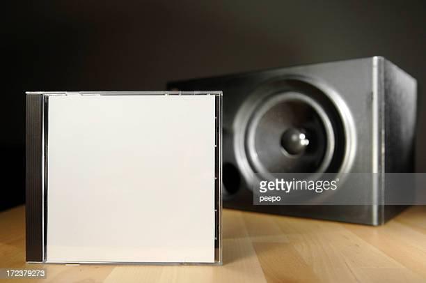 Boîtier de cd avec haut-parleur