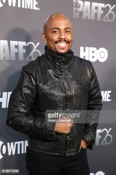 Speaker Farrah Gray attends the Pan African Film Festival Red Carpet and Screening of the 'Black Panther' Movie at Cinemark Baldwin Hills Crenshaw 15...