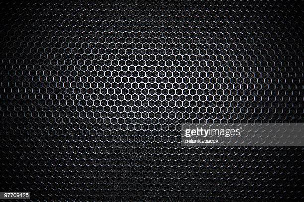 speaker grille - metal music stock photos and pictures