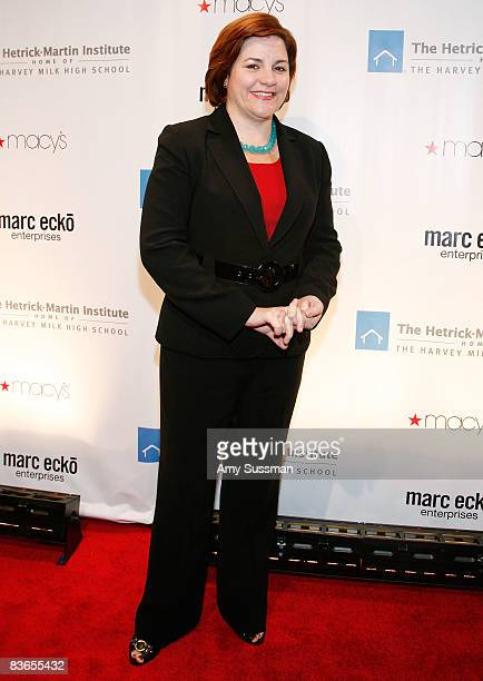 Speaker of New York City Council Christine C Quinn attends the 2008 Emery Awards at Cipriani on November 11 2008 in New York City