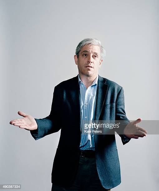 Speaker of the House and UK Conservative party politician John Bercow is photographed for the New Statesman on September 3 2012