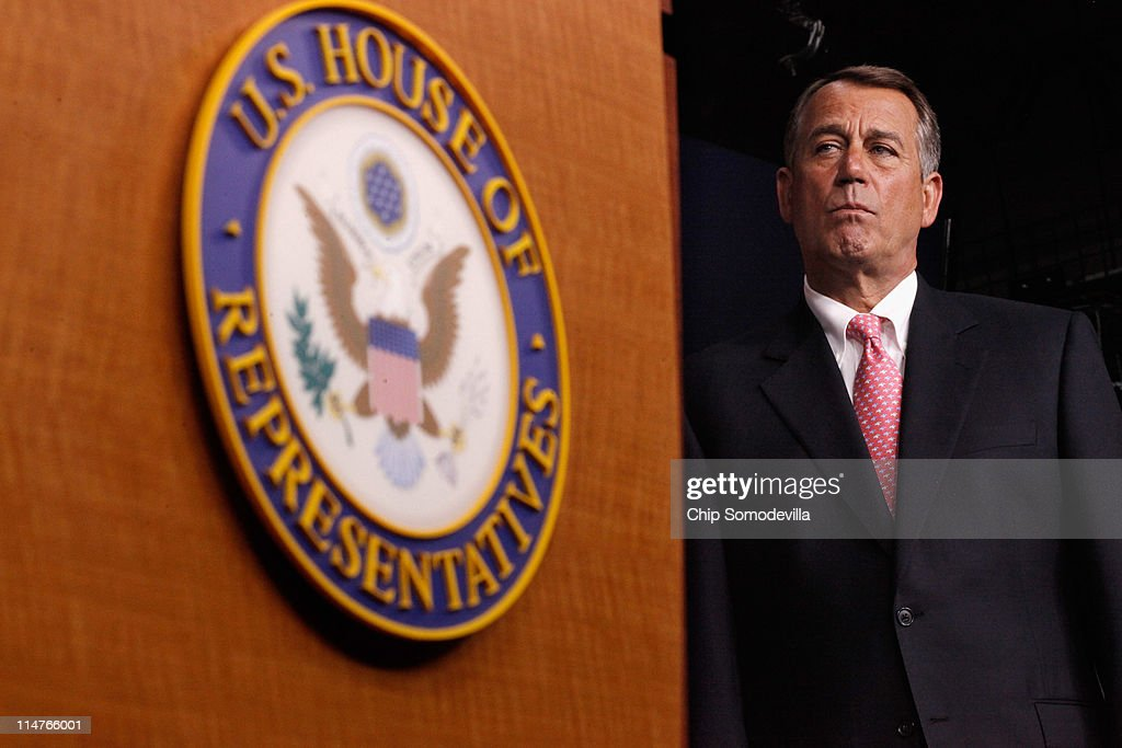 House Republican Leaders Unveil Pro-Growth Jobs Plan : News Photo