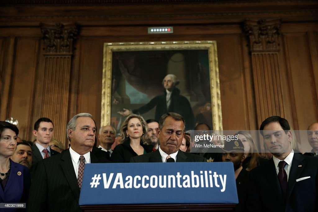 Boehner, GOP Leaders Discuss VA Accountability Legislation