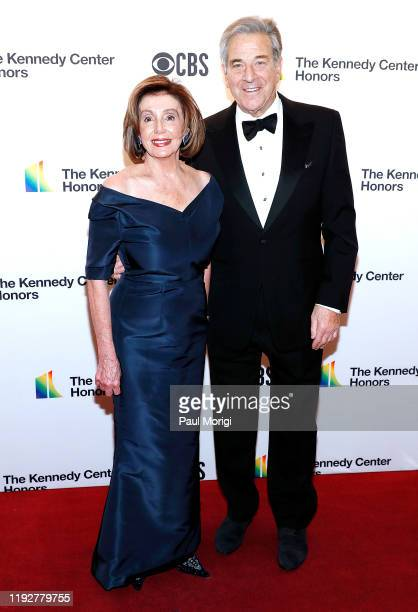Speaker of the House Nancy Pelosi and Paul Pelosi attend the 42nd Annual Kennedy Center Honors at The Kennedy Center on December 08 2019 in...