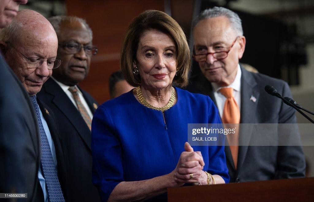 us-congress-politics-trump-democrats-investigation : News Photo