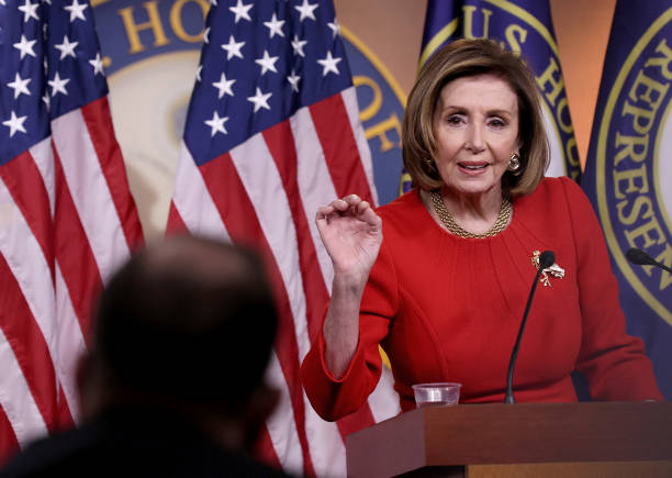 DC: Speaker Pelosi Holds Weekly News Conference