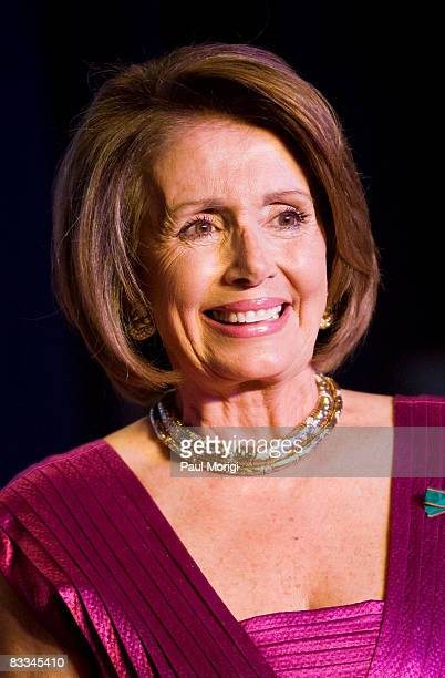 Speaker of the House Nancy Pelosi at the National Italian American Foundation 33rd Anniversary Awards at the Hilton Washington and Towers on October...