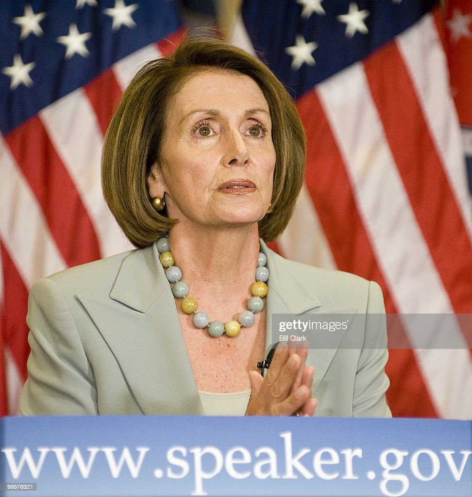 Speaker of the House Nancy Pelosi, D-Calif., speaks about President Obama's speech to Congress during her weekly news conference on Thursday, Sept. 10, 2009.