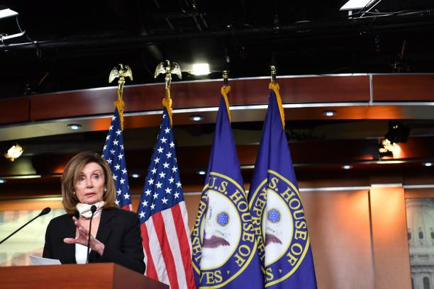 DC: Speaker Pelosi Briefs Press In Weekly News Conference